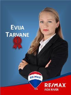 Director(a) de Agência - Evija Tarvane - RE/MAX - Fox River